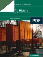 AP Art History Course and Exam Description, Effective 2015.pdf