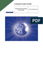 Peugeot Planet System (PPS). Руководство пользователя