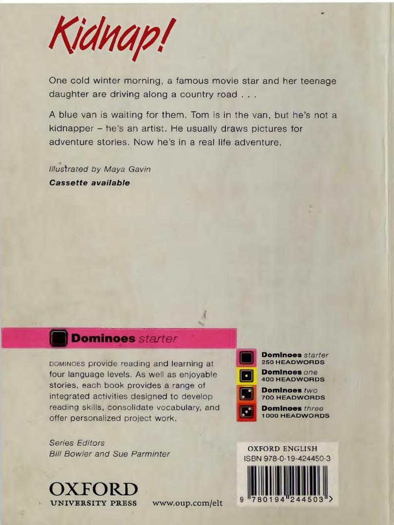kidnap.pdf | Oxford University Press | Leisure