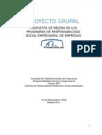 Responsabilidad Social y Empresarial 3 Entrega