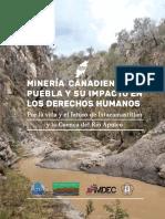 Minería Canadiense en  y Sus Impactos en DDHH