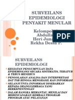 10 Prinsip Dasar Dan Konsep Surveilens Epidemiologi