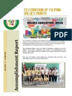 EsP Club Accomplishment Report 1617