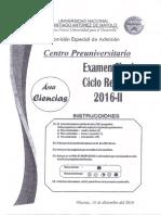 Cpu Segundo Examen (Examen Final) Ciclo Regular 2016 - II