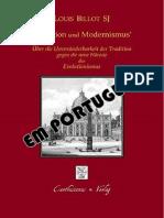 Cardeal L. Billot, SJ - Da Imutabilidade Da Tradição Contra a Moderna Heresia Do Evolucionismo