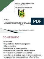 Presentación Investigacion Cesar Villa Alagon
