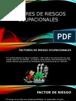 Factores de Riesgos Ocupacionales