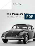 The People's Car a Global History of the Volkswagen Beetle - Bernhard Rieger
