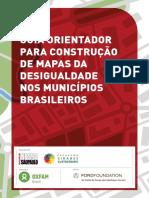 Guia Orientador Para Elaboracao de Mapas Da Desigualdade Em Municipios Brasileiros
