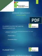 Aula 03 - Classificação de Mapas Topograficos e Escala