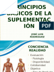 Principios Basicos de la suplementación.pptx