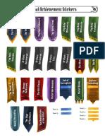 Achievement Stickers V2