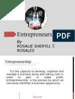 Entrepreneurial Perspective