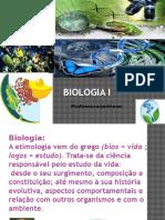 1ª Aula Biologia -Importancia