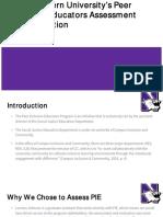 northwestern universitys peer inclusion educators evaluation and assessment