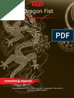 Excerpt - 5e Dragon Fist Cover