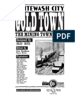 Gold Town Rules