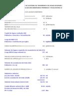 Diseño Lagunas Anaerobias y Facultativas en Serie