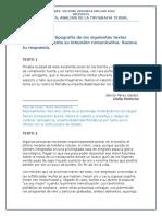 Actividades Analisis de La Tipografia Textual