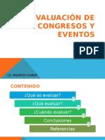 Evaluacion de Eventos web