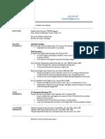 resume for tarleton working copy