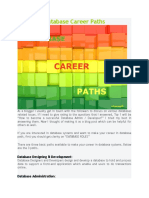 Database Career Paths 2121