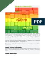 Database Career Paths 2121