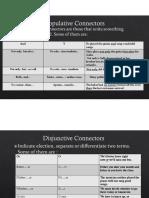 Copulative Connectors