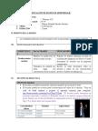 Planificacion de Sesión de Aprendizaje Descripcion