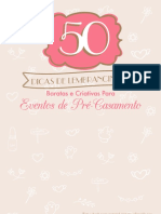 50 Dicas de Lembrancinhas Baratas e Criativas Para Eventos de Pre Casamento