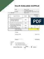 Evaluasi Supplier Cth