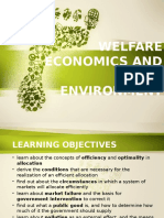 Welfare Economics and the Environment