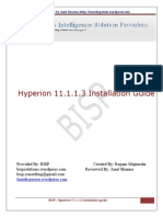 BISP Hyper Ion 11 1 1 3 Installation Guide