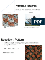 principles of design - repetition   movement