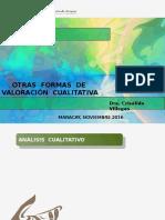 Analisis Cualitativo DRA CRISÁLIDA VILLEGAS