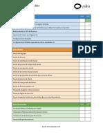 Somoswaka Checklist Tienda Online