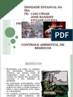 Controle Ambiental de resíduos.ppt