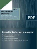Estethic direct restorative material.pptx