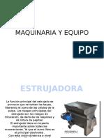 Maquinaria y Equipo