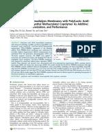 PolyLactic Acid Hemodialysis Membrane