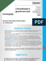 Analisis Cuantitativas de Benzodiazepinas