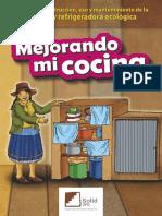 Cocina Alacena y Refrigeradora Ecologica