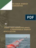Pelamis Wave Energy Converter(Le202)