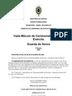 Vade Mecum de Cerimonial Militar Do Exercito Guarda de Honra