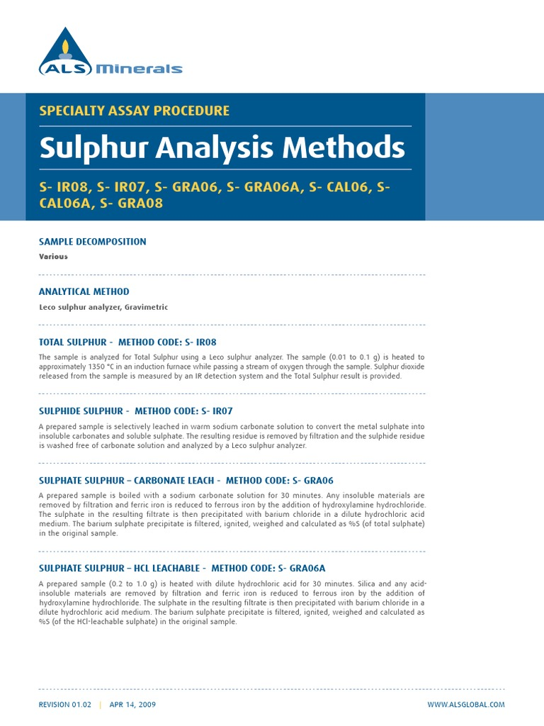 Short method various sulfur methods including leco methods 1pdf short method various sulfur methods including leco methods 1pdf hydrochloric acid sets of chemical elements buycottarizona Image collections
