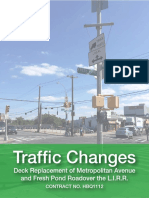 Traffic Changes Update of TEAs