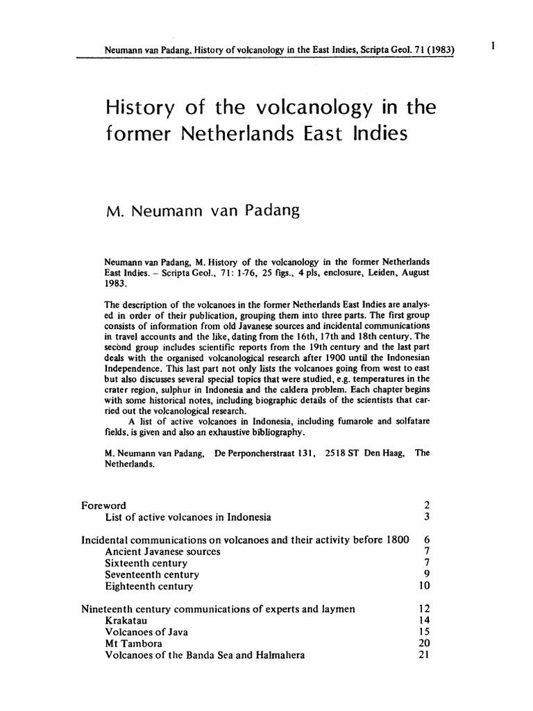 Neumann Van Padang.pdf   Volcano   Lava