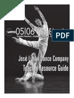Jose Limon Study Guide