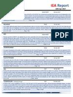 IEA Report 10th April