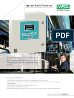 Chillgard RT Refrigerant Monitor Bulletin - En